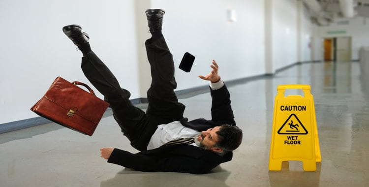 How Does the Public Liability Claim Work for a Slip and Fall Acciden
